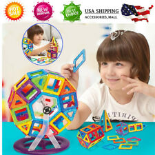 95Pc Magnetic Tiles Building Blocks Education Toys for Kids Baby Christmas Gifts