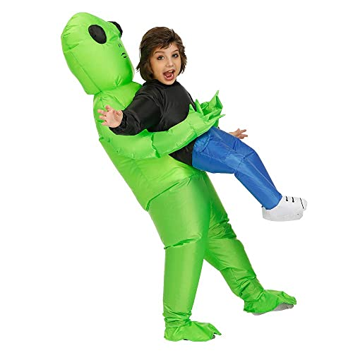 Adult Inflatable Dress Halloween funny Blow Up costume Party Alien Dress Cosplay