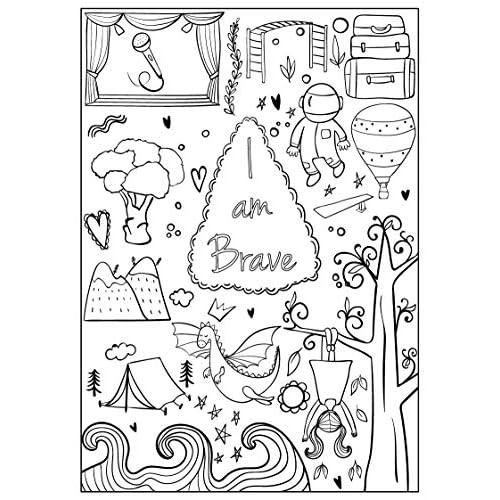 Saya Percaya Diri Berani Cantik Buku Mewarnai Untuk Anak Perempuan Paperback 13 November 2017 Buy Products Online With Ubuy Indonesia In Affordable Prices 0692927999