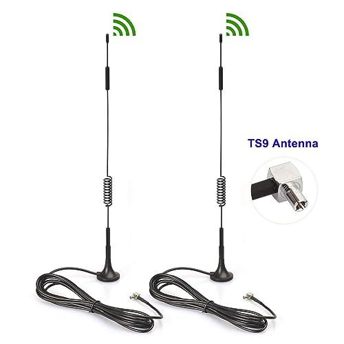 2 Pack 4G LTE TS9 Antennas for 4G LTE USB Modem Mobile WiFi Hotspot