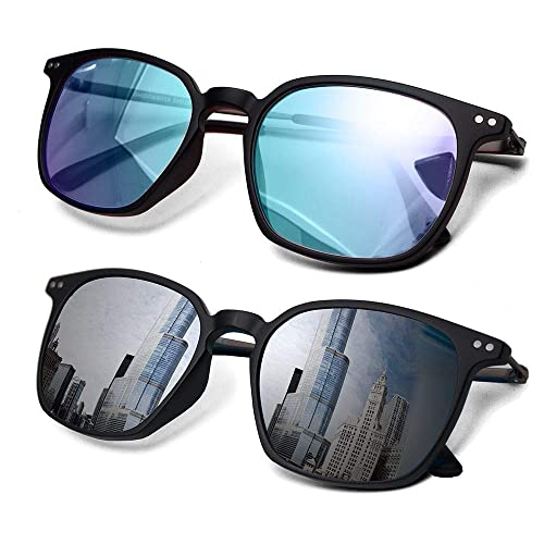Buy 2 Pack Color Blindness Glasses for Men/Color Blind Corrective Glasses for Red-Green and Blue Blindness (Color Blind Glasses)&hellip Online in Indonesia. B08K894JGV