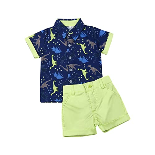 Shorts Set Children Casual Clothes Kids Boys Summer Outfits Short Sleeve Tops