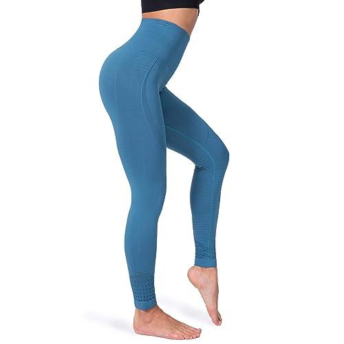 Fitrell Tinggi Berpinggang Ramping Latihan Mulus Legging Untuk Wanita Perut Kontrol Berjalan Olahraga Celana Yoga Buy Products Online With Ubuy Indonesia In Affordable Prices B07kxpfhr5