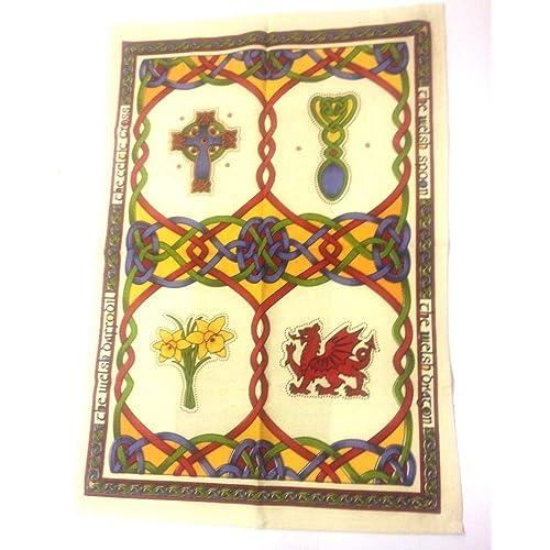 Celtic Cotton teatowel Set from Ireland