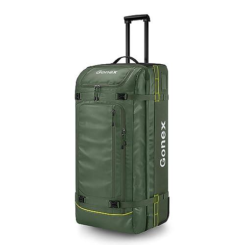 vtge travel bag-samsonite-army green-zipper-2 outside pocket-sport bag-overnight bag-