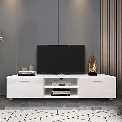 Uni Fam Tv Stand For 70 Inch Stands, Tv Stand Media Storage Cabinet