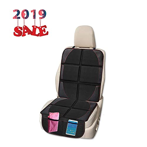 X-Large Car Back Seat Protectors Backseat Organizer Seat Covers For The Back Of Your Seat 2 Pack Kick Mat Auto Seat Back Protectors Kick Guard Seat Saver 4 Large Organizer Pockets By Lebogner