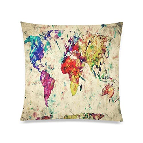 20X20 Vintage Faded Pillow Cover