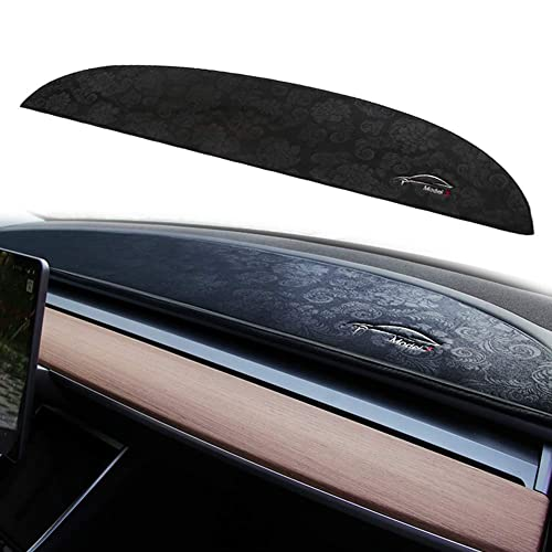 GTINTHEBOX Custom Fit Dashboard Black Center Non-Slip Console Cover Dash Mat Protector Sunshield Cover Pad for 2017 2018 2019 Toyota CHR CH-R
