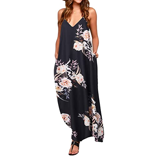 ZANZEA Women Beach Party Evening Lace-Up Floral Sleeveless Long Tops Mini Dress