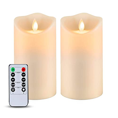 Waterproof Flameless Candles Outdoor, Outdoor Flameless Candles With Remote