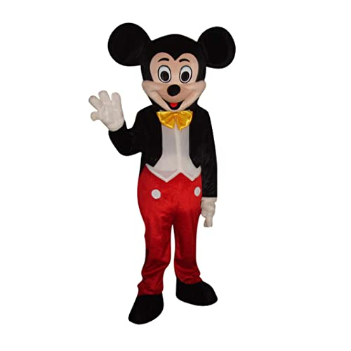 Cartoon mascot Costume Mickey and Minnie cosplay one only