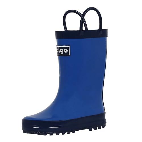 Toddler Children Kids Baby Boy Girl Dinosaur Waterproof Shoes Rain Boots Booties