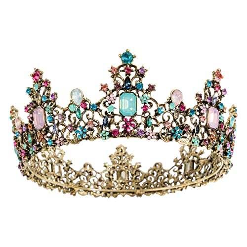 Kids Baby Plastic Princess  Crown Girls cosplay  Party Fancy Dree up 5 Pack