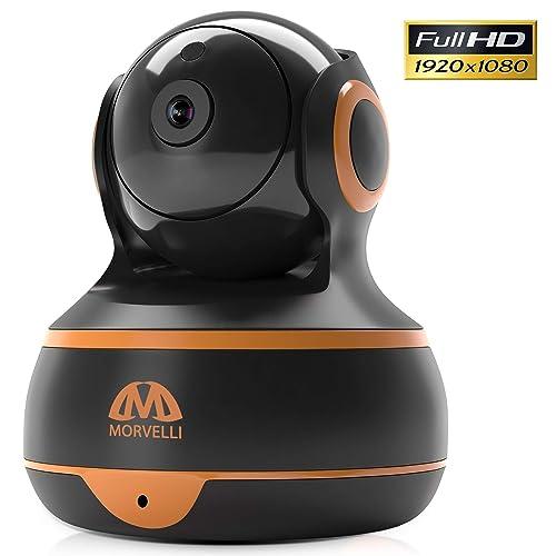 Buy [New 2019] FullHD 1080p WiFi Home Security Camera Pan