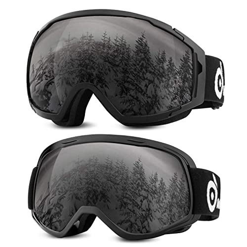 Anti-fog UV Dual Snow Lens Winter Snowboard Ski Goggle Sport Motorcycle Glasses