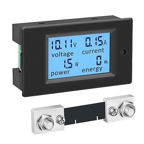 AC 50-500V 100A OR DC 6.5~100V 50A Voltage Voltmeter Watt Current Power Meter