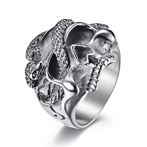 size 10 Designed for Bikers STAINLESS STEEL Statemtnt ~ Wings ~ RING