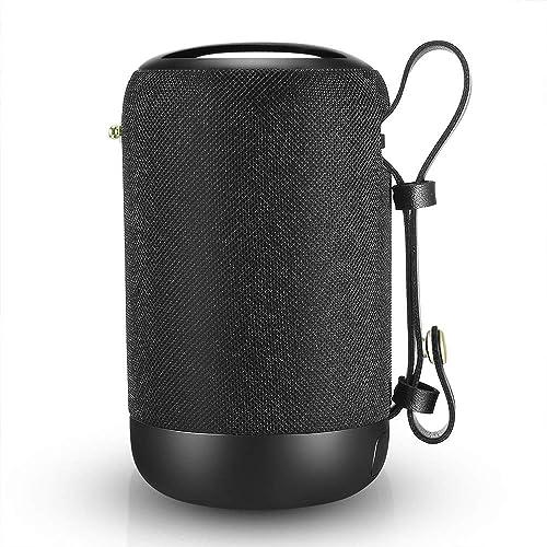 Unbreakable 20W Dual Driver,... Bluetooth Speakers Waterproof Portable Speaker
