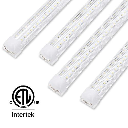 4ft Led Shop Light >> Buy 4ft Led Shop Light Fixture T8 Integrated Single Fixture