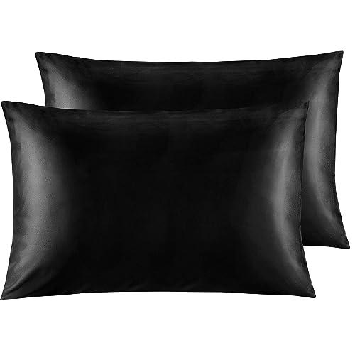 Standard Manor Ridge Luxury 100 GSM Brushed Microfiber Pillowcases Set of 2 White