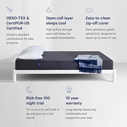 Buy Casper Sleep Essential Mattress Twin 8 5 With Ubuy Indonesia