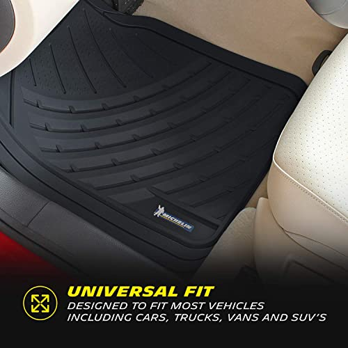 All Weather Protection Universal Fit Pro Liner Original 3pc Heavy-Duty Front /& Rear Rubber Floor Mats for Car SUV Van /& Truck Beige