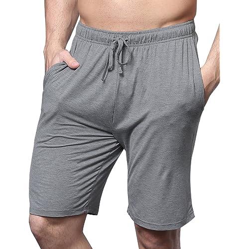 GYS Men/'s Bamboo Pajama Bottom Lounge Shorts