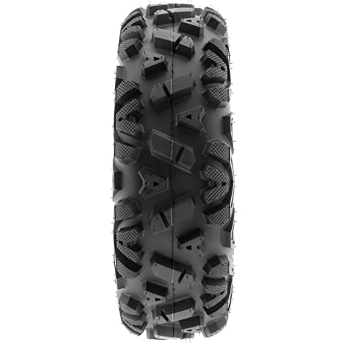 6 Ply Tubeless Set of 2 SunF A033 Power.I AT 27x11-12 ATV UTV Off-Road Tires All-Terrain