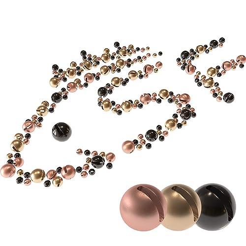 Slotted Tungsten Beads Tying Copper Tungsten 5 Sizes Accessories 2.5mm