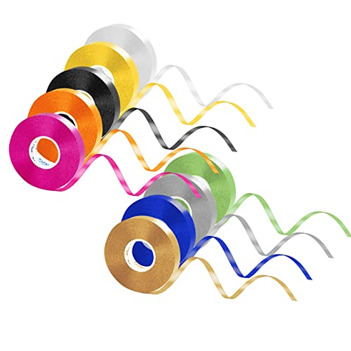 5mm Balloon Curling Ribboons Bright Craft Gift Wrapping Ribon Party festival UK