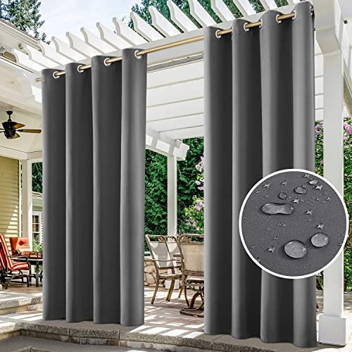 Panels Grey Outdoor Curtains, Outdoor Panels For Patio