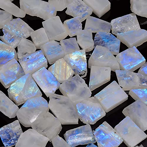 India Rough Raw Rainbow Moonstone CrystalRock