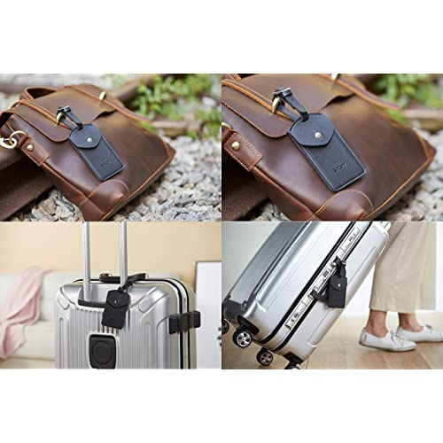 I Love Nursing Travel Luggage Tags With Full Privacy Cover Leather Case And Stainless Steel Loop