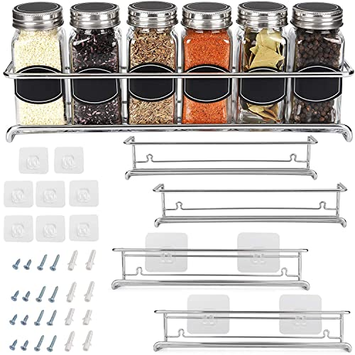 Spice Rack Organizer For Cabinet, Kitchen Pantry Hanging Rack