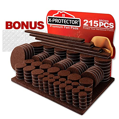 Furniture Pads 215 Pcs X Protector, Best Pads For Furniture Feet