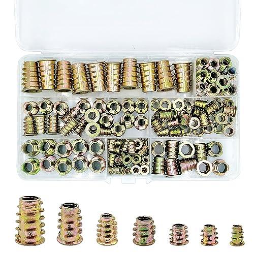 Ochoos 60pcs//Set 304 Stainless Steel Wire Screw Sleeve Thread Insert Assortment Kit Screw Thread Repairing Tools New