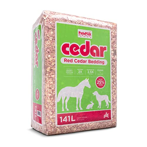 Petspick Red Cedar Pet Bedding For Dogs, Can Rabbits Have Red Cedar Bedding