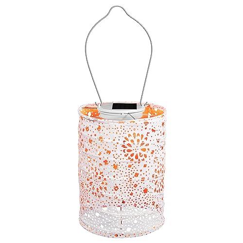 Patio Deck Garden Color Neon Orange, Allsop Home And Garden Solar Lantern