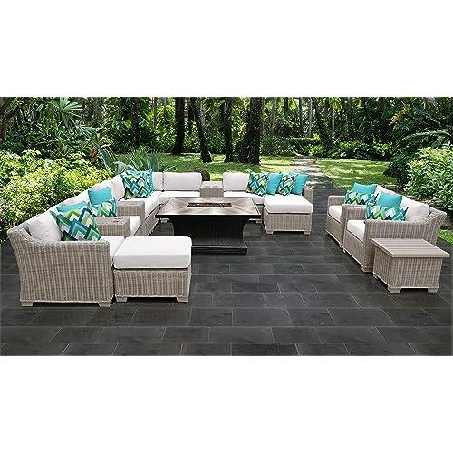 Tk Classics Coast 17d White, Garden Classics Patio Furniture
