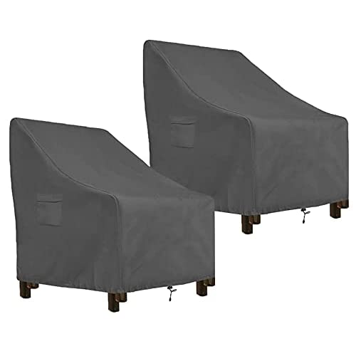 Akefit 2 Pack Patio Chairs Covers, What Fabric To Use For Outdoor Furniture Covers