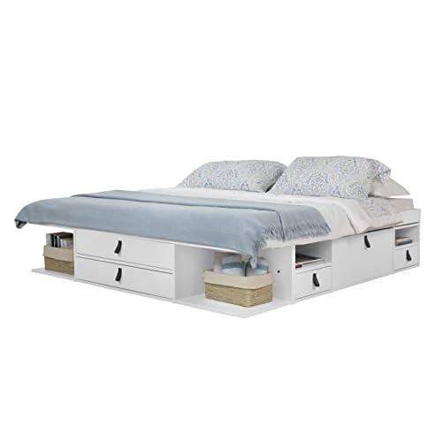 Memomad Bali Storage Platform Bed, Platform Beds With Storage Queen Size Bed