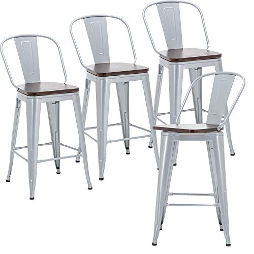 24 Inch Swivel Bar Stools, 24 Inch High Dining Chairs