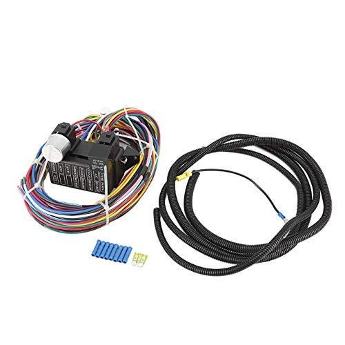 Partol 12 Circuit Wiring Harness, Street Rod Wiring Harness Diagram