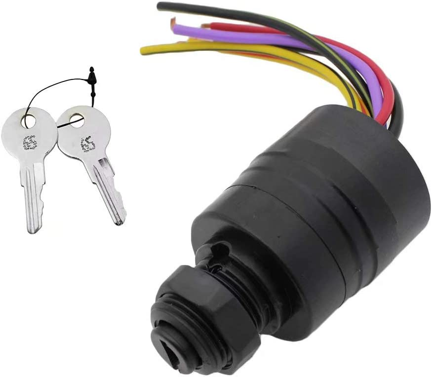 Paddsun Boat Push To Choke 6 Wire, Mercury Outboard 6 Wire Ignition Switch Wiring Diagram