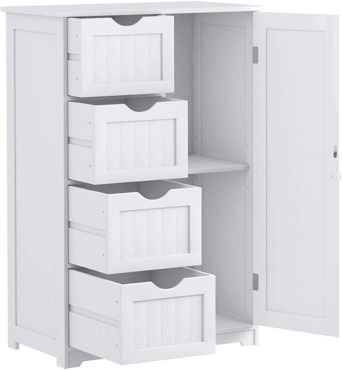 Nightcore Floor Storage Cabinet, Bathroom Floor Storage Cabinets