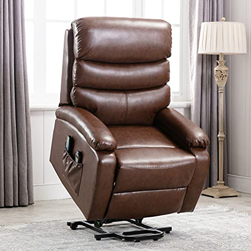 Edwell Power Lift Recliner Chair, Home Theater Couch Living Room Furniture