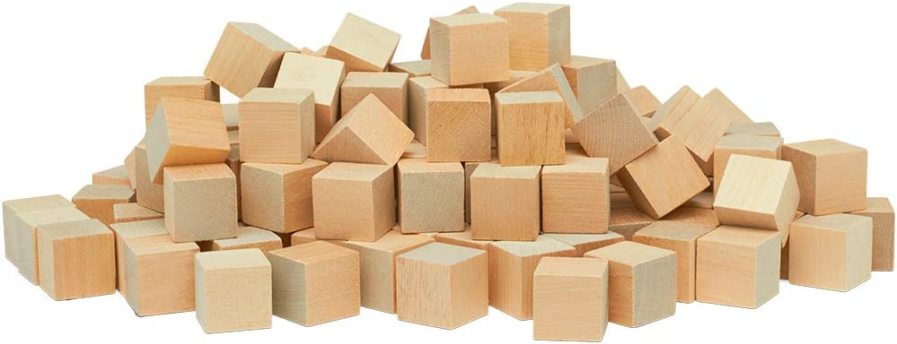 Buy Unfinished Wood Craft Cubes 1 Inch Pack Of 50 Small Wooden Blocks To Decorate Wooden Cubes For Crafts And Decor By Woodpeckers Online In Indonesia B00dnn5hok