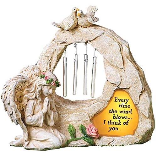 Angel Garden Statues Sympathy Gift, Memorial Garden Ornaments