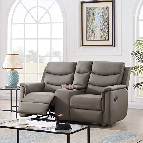 Recliner Chair Pu Leather, Modern Recliner Sofa Leather